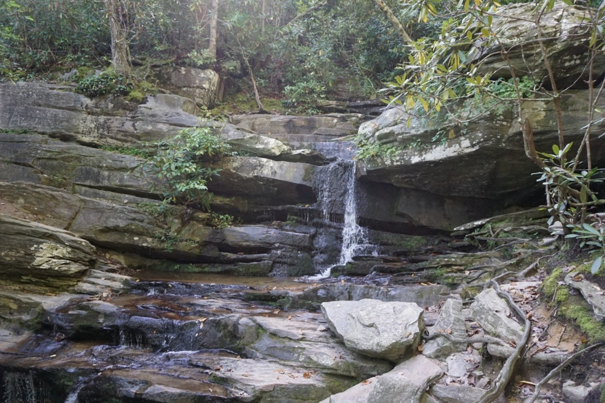 Hidden Falls Hanging Rock State Park Danbury, NC