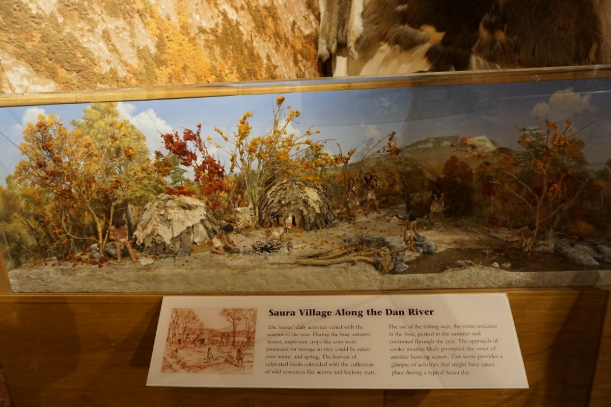 Exhibit Hall at Hanging Rock State Park, Danbury, NC