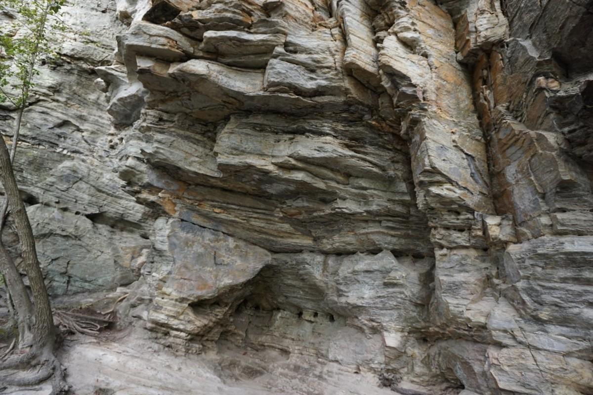 Hanging Rock Trail - amazing rock formations. Hanging Rock State Park Danbury, NC