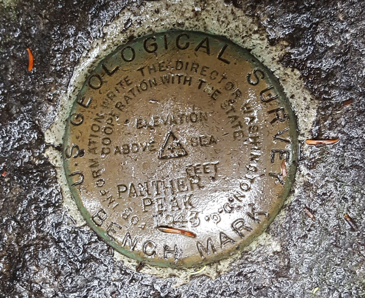The Summit Marker on Panther