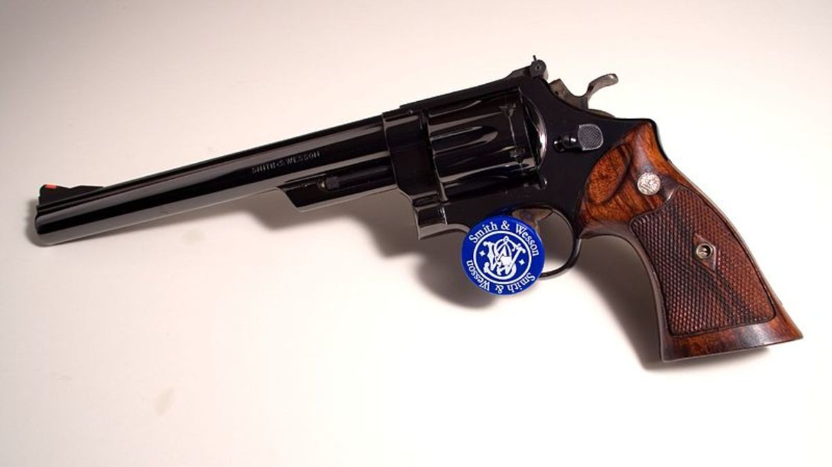 Any .44 Magnum revolver, such as this S&W Model 29, can shoot .44 Specials.