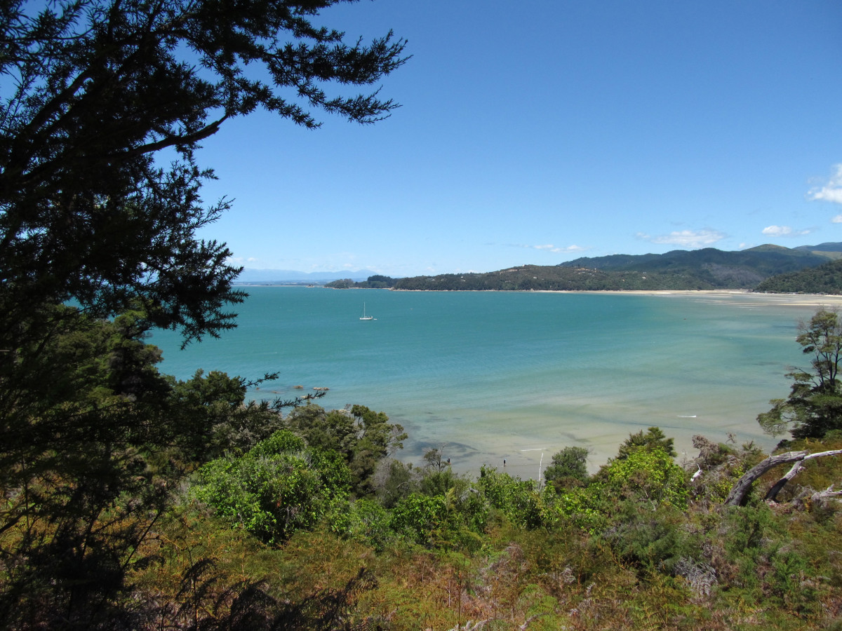 View from Abel Tasman Coastal Track.