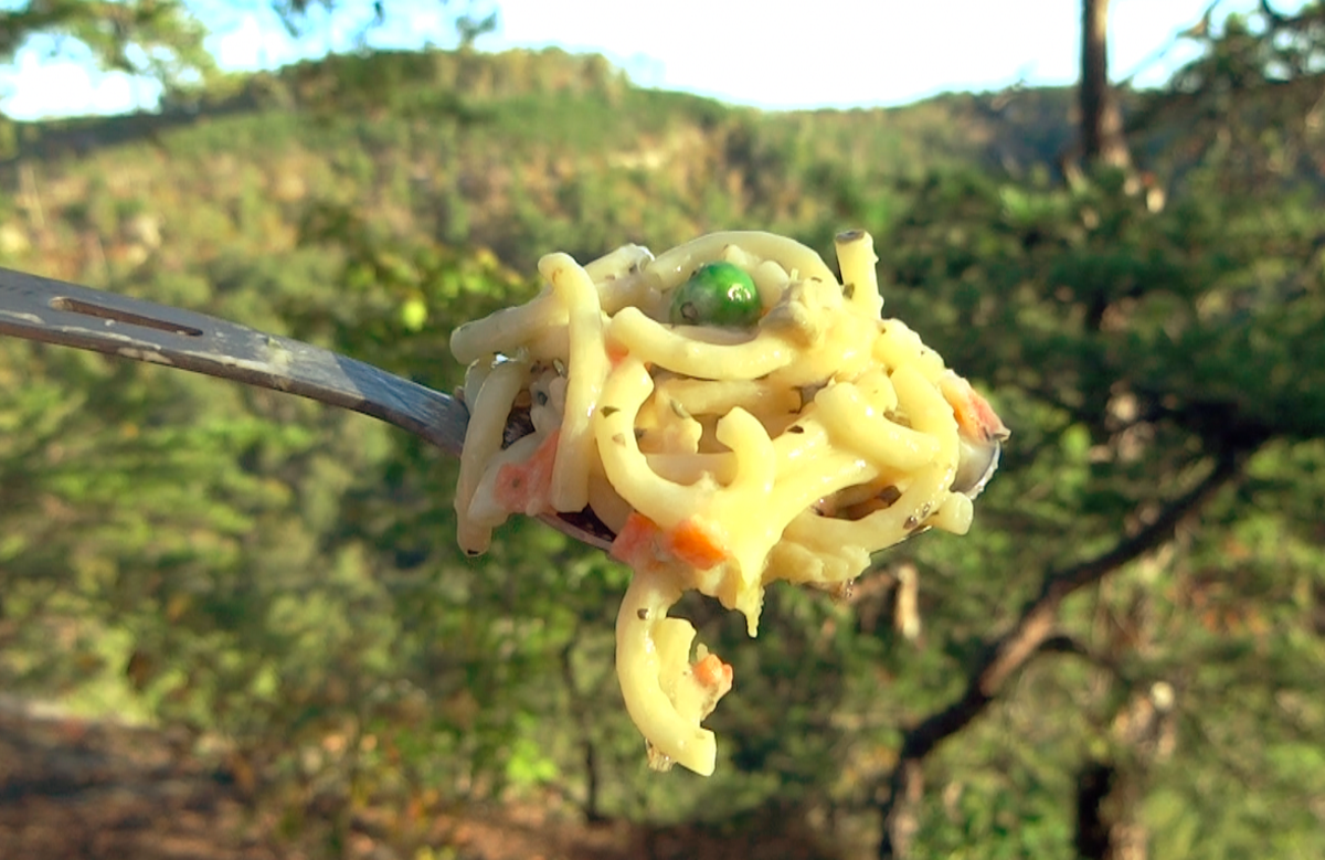 Backerpacker's Pantry Pasta Vegetable Parmesan