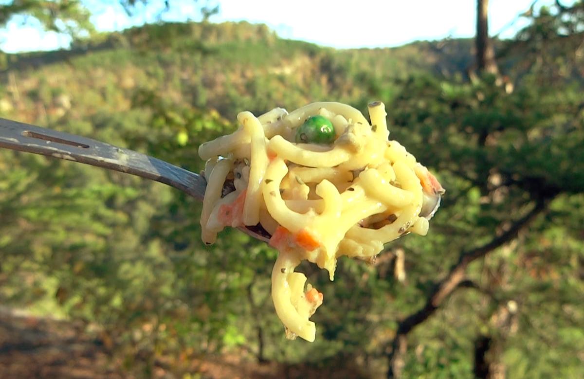 Backerpacker's Pantry Pasta Vegetable Parmesan