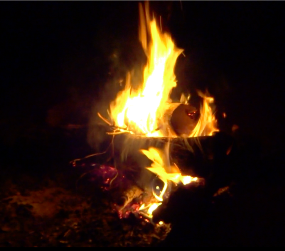 24 October campfire