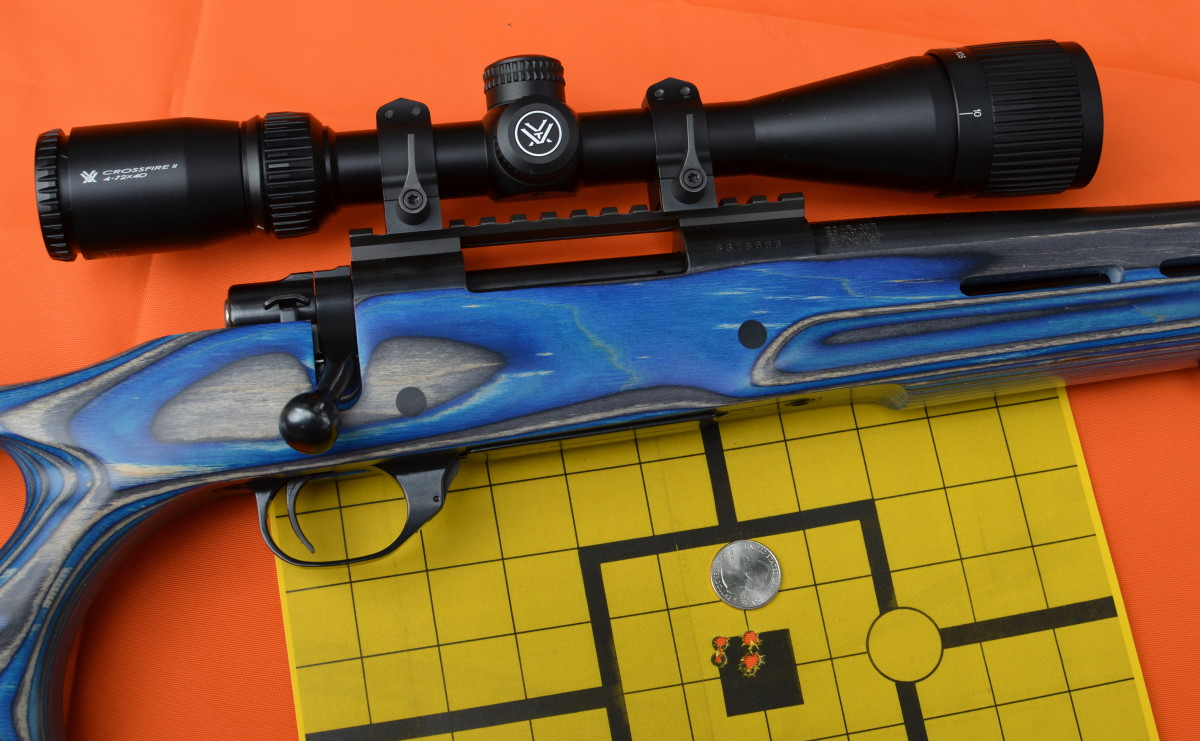Howa 1500 with Vortex 4-12x scope.