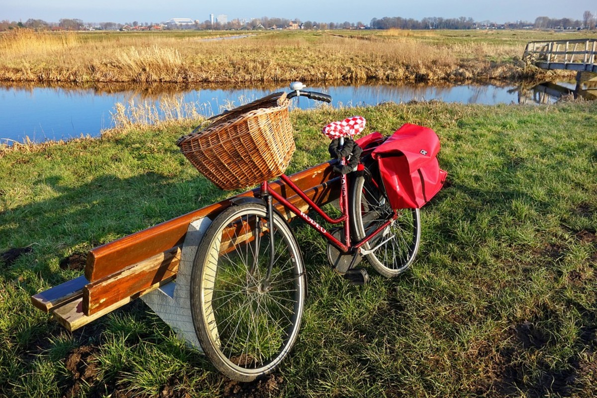 Baskets, panniers, and backpacks can provide some storage, but there are many things that are difficult to transport while biking.