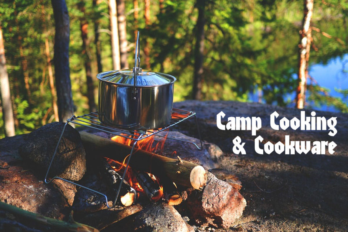 Campfire cooking cookware