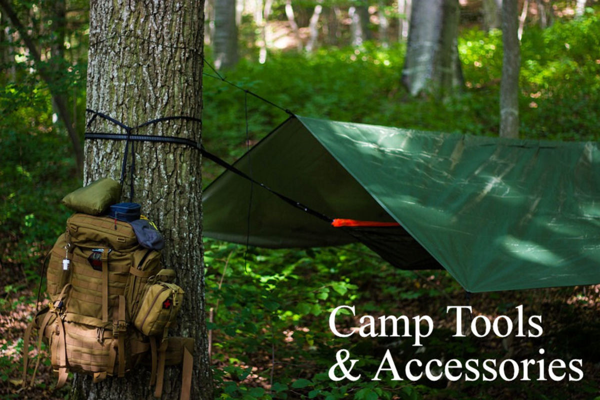 Camping tools and hammock