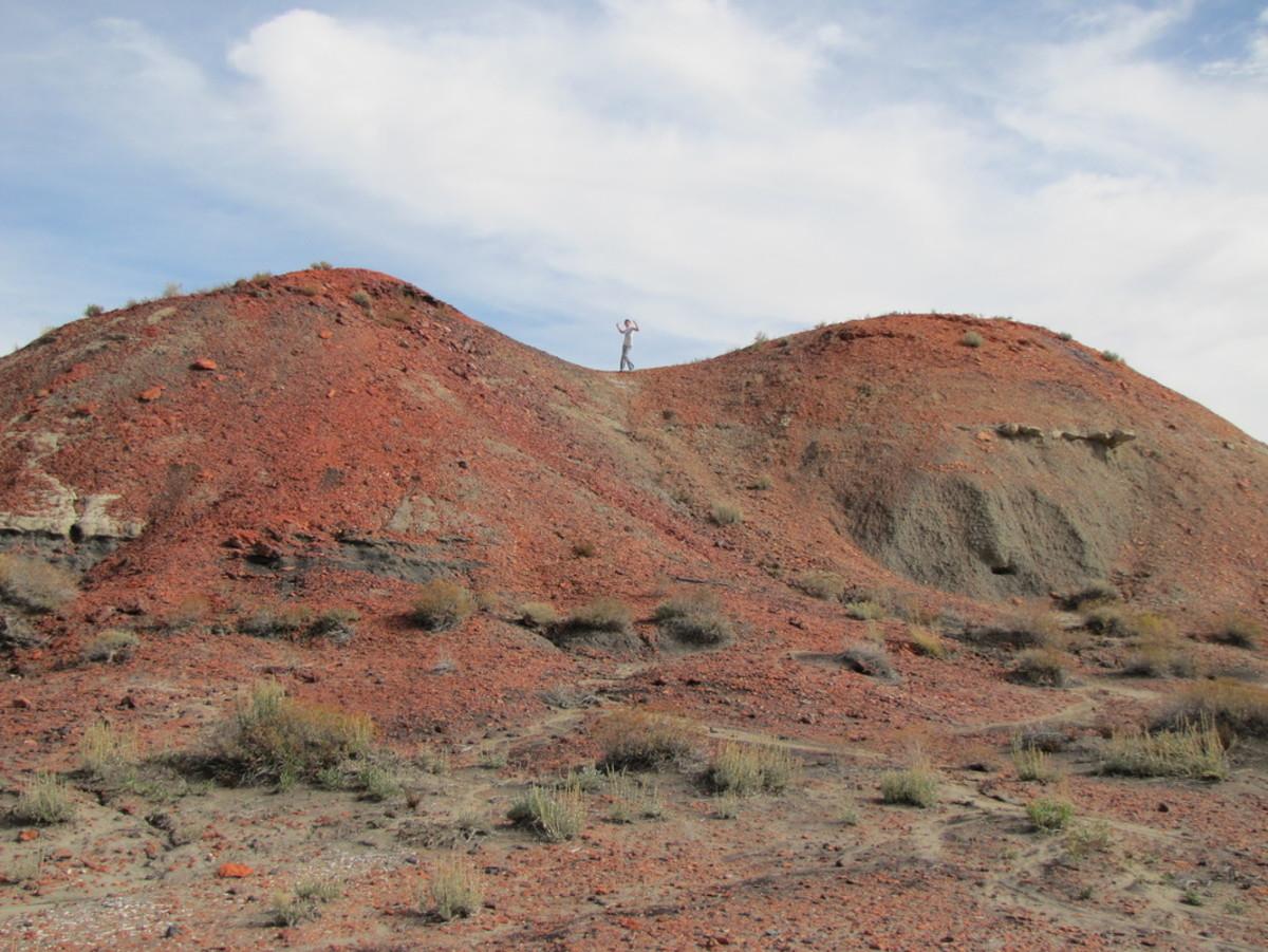 The Orange Mounds