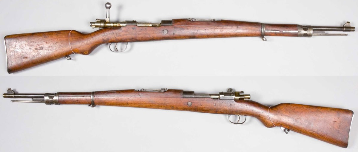 Yugoslavian M1924 is a modified Mauser Kar 98K built in Zastava.