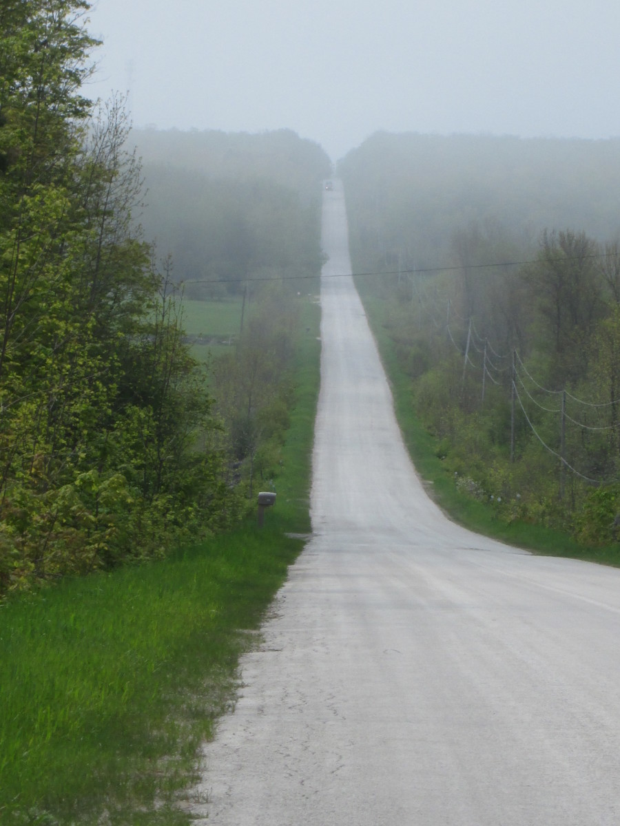 The kind of roads I love. : )