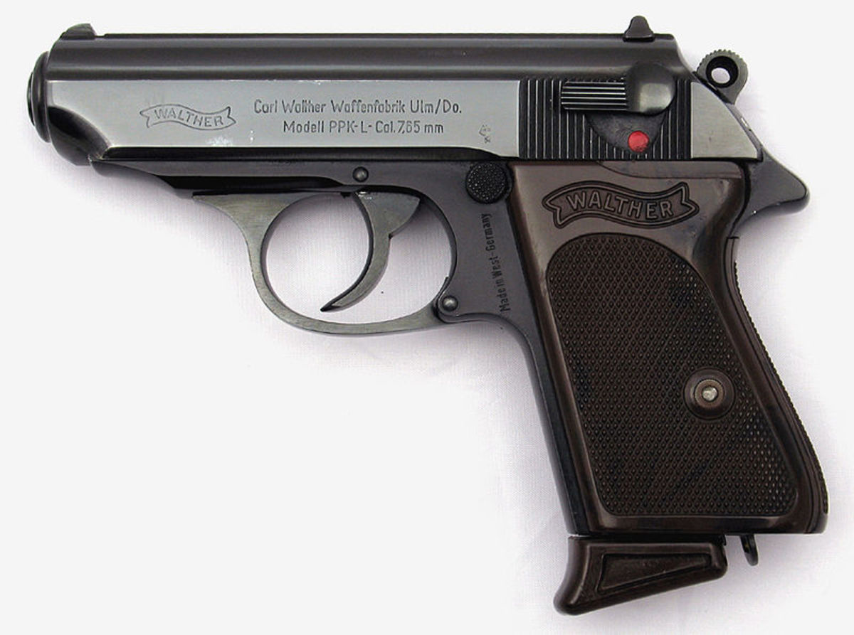 Walther's PPK (Polizei Pistol Kurz) .380 ACP debuted in the 1930s, yet is still an excellent mouse gun. (Not to mention James Bond carried one.)