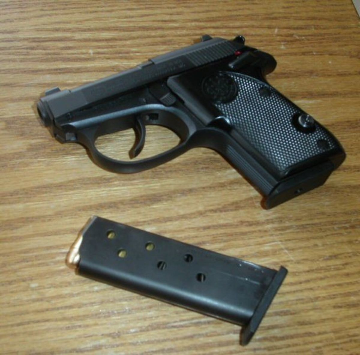 Beretta's Tomcat provides .32 ACP bite in a .25 ACP-size package.