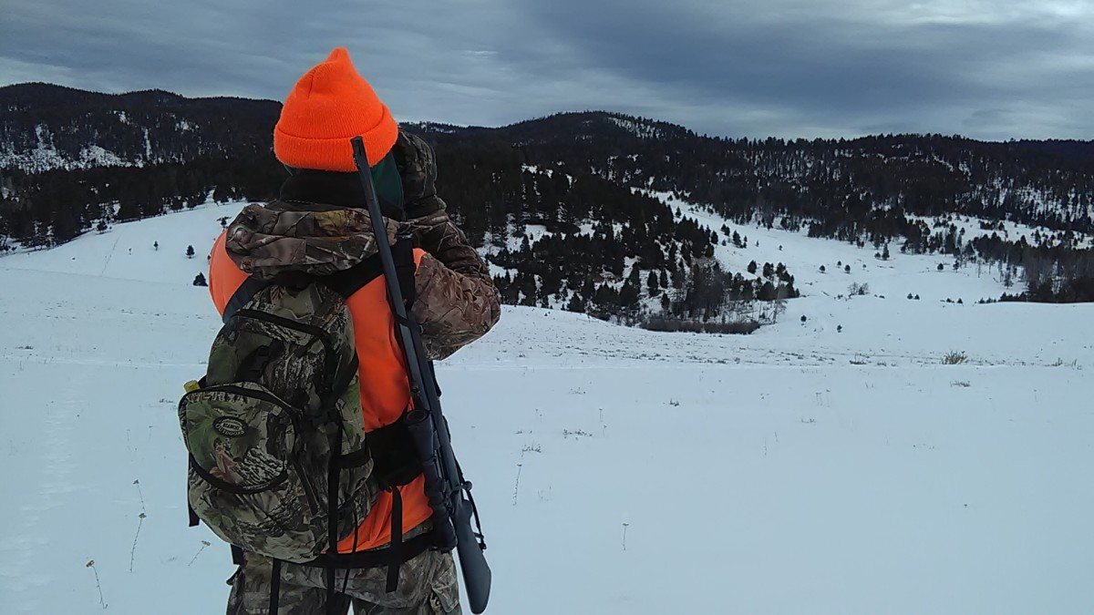 Mulie hunting: hike, climb, glass--repeat.
