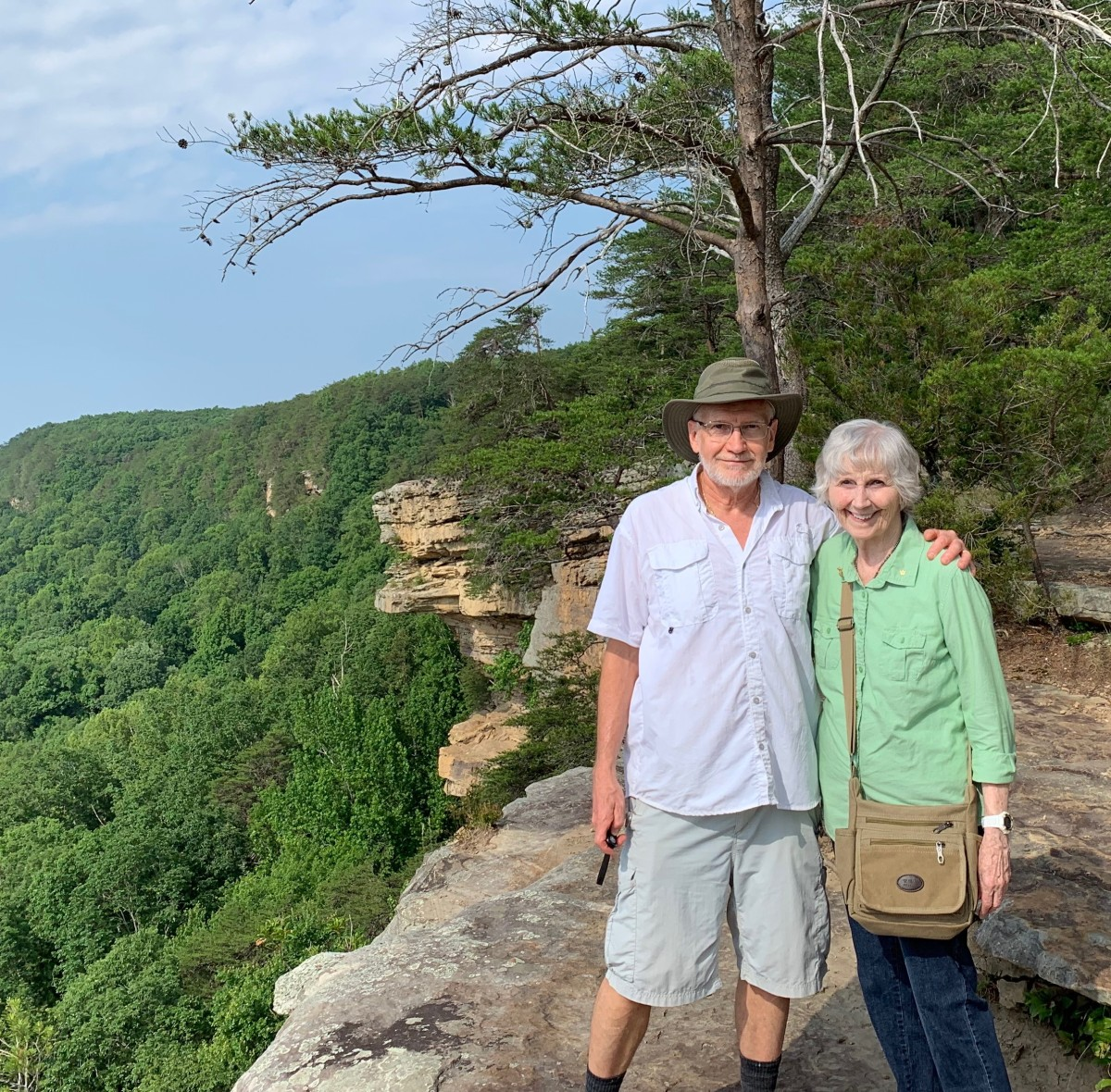 Bluff Cliffs at Stone Door, Tennessee