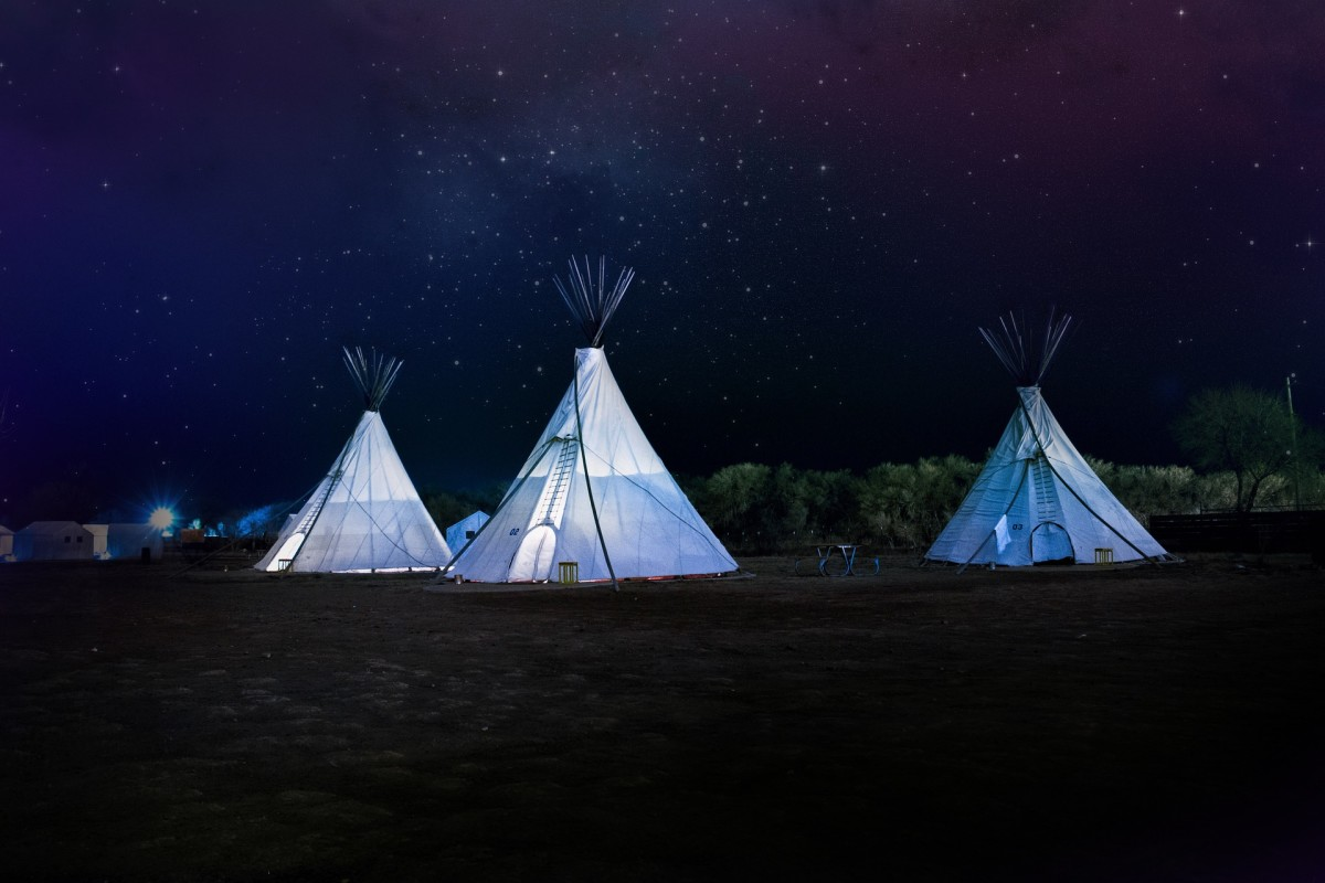 Glamping involves booking a pre-pitched tent that will often have many luxuries a regular camping experience lacks.