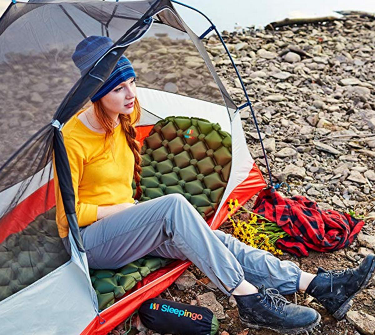 Sleepingo makes a pretty amazing camping mattress