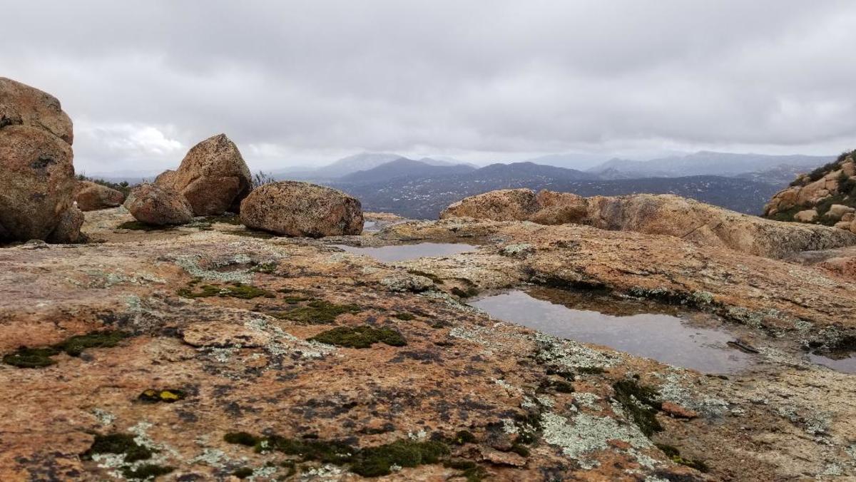 Pools in the granite