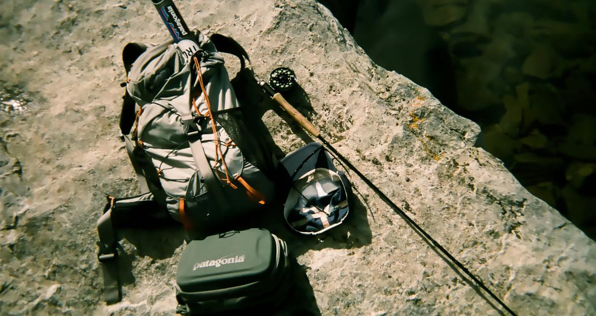 Fly fishing gear.