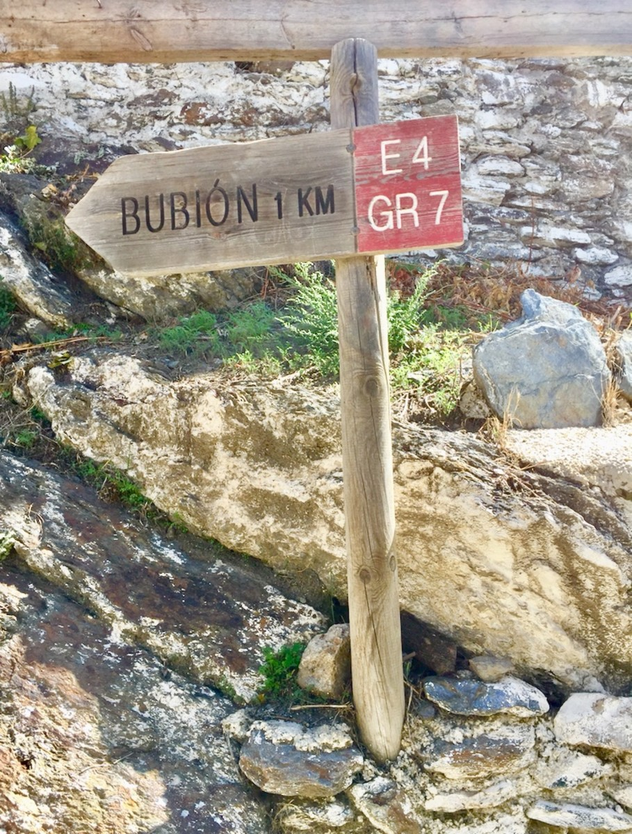 The area has many hiking trails from which to choose.