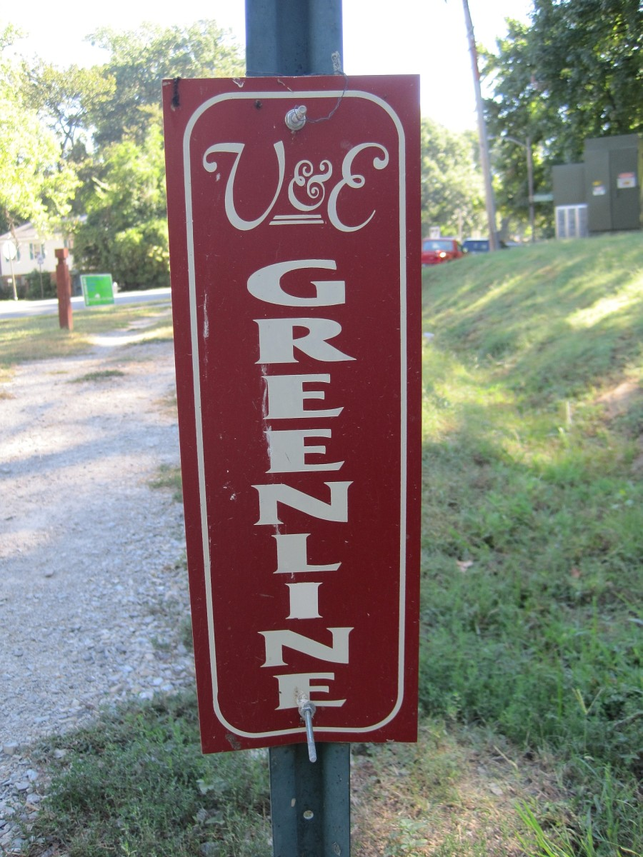 V & E Greenline sign