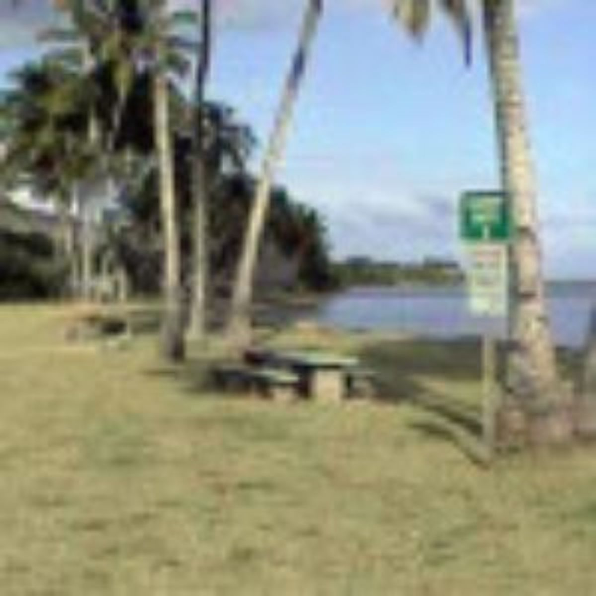 Campground facilities at One Alii Park, on Molokai, in Maui County