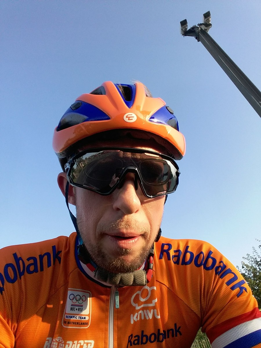In the Carnac Notus Race Helmet