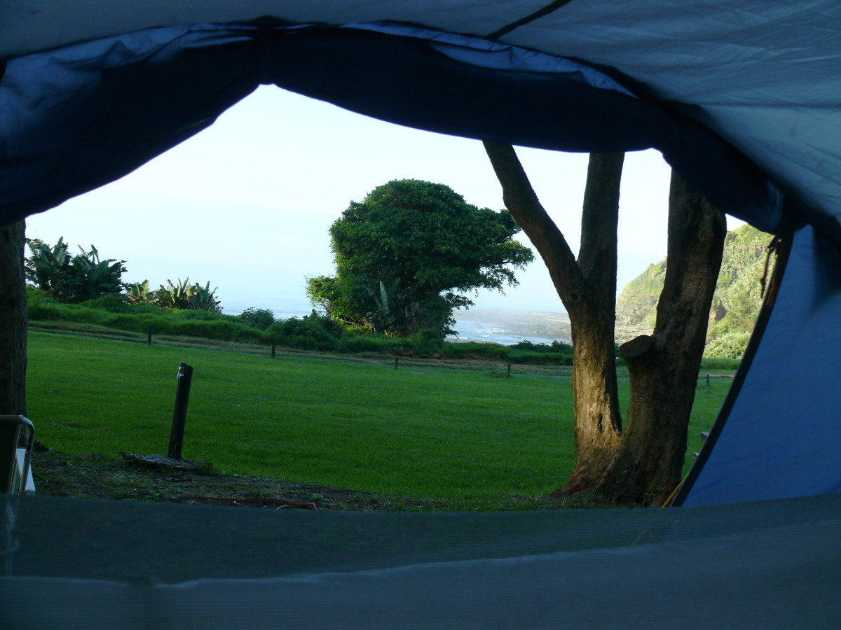 A view from our tent