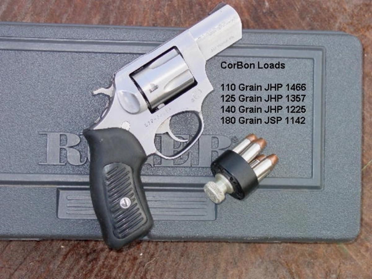 Ruger SP-101. Author's pick for best .357 Magnum snub nose.