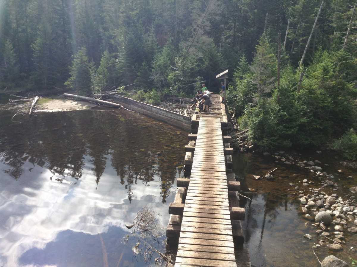 Bridge at Lake Colden
