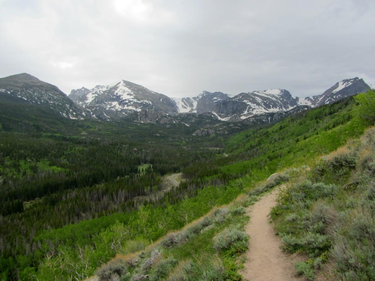 Bierstadt Lake Trail in Rocky Mountain National Park