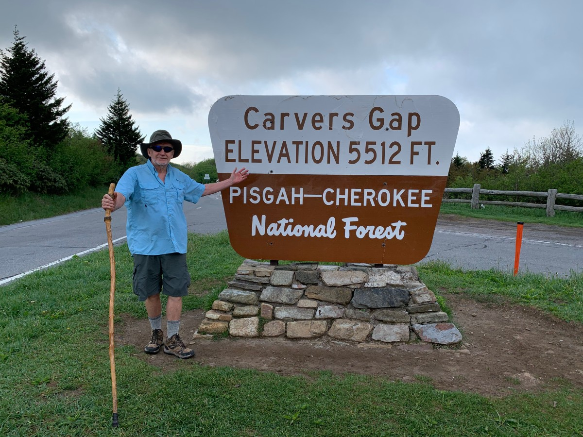 Ron Grimes at Carvers Gap Parking Area