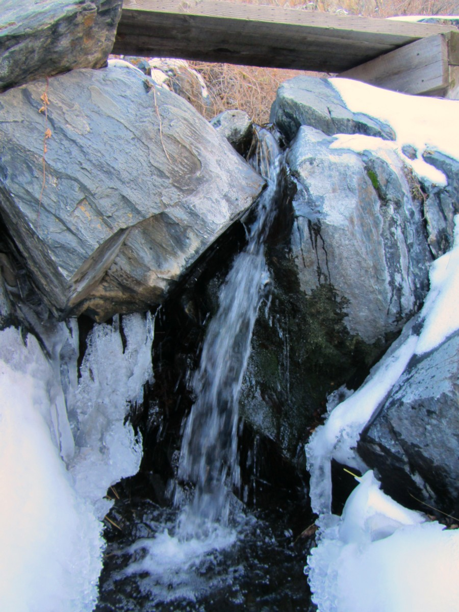 Waterfall at Lory State Park