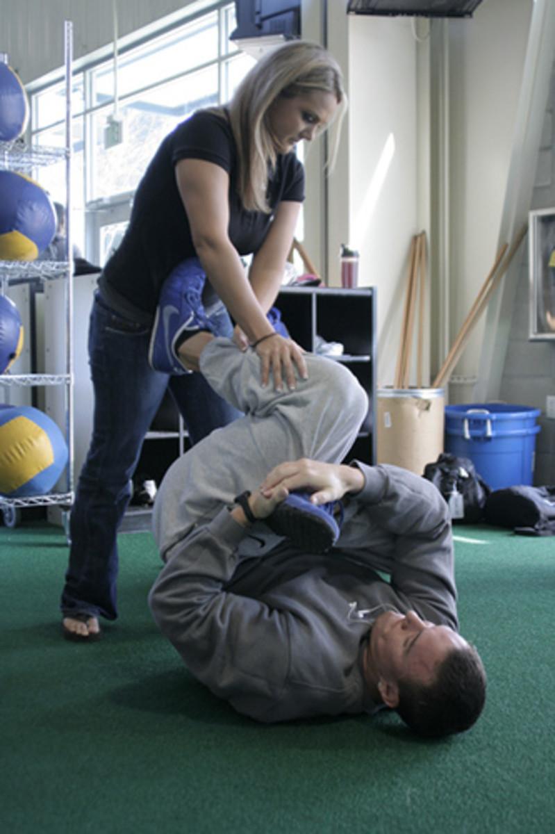 Leg Stretches - leg flexibility for the Inflexible!