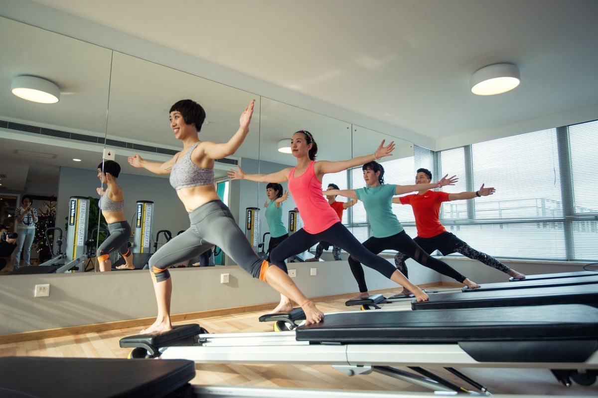 Some Pilates studios offer group classes, too