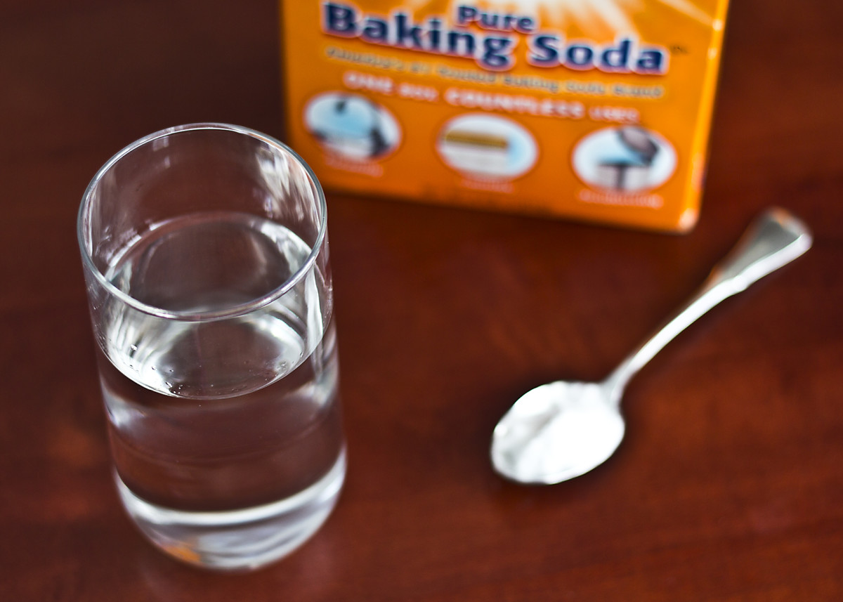 1/2 teaspoon baking soda in a glass of water can be substituted for grapefruit. Allow the mixture to sit for  at least 30 minutes before drinking. Eat another piece of fruit in place of the grapefruit with your meal.