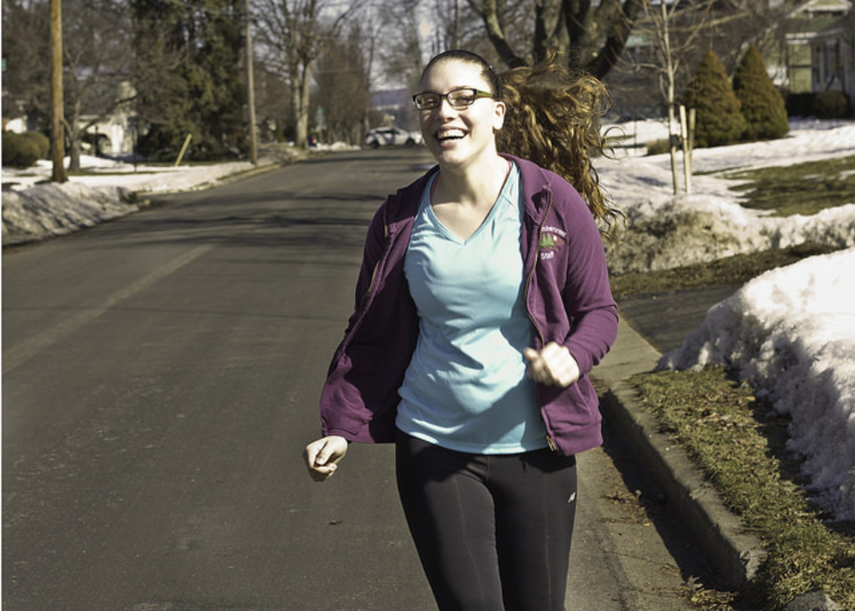 Jogging/running is a great form of exercise for losing leg fat.