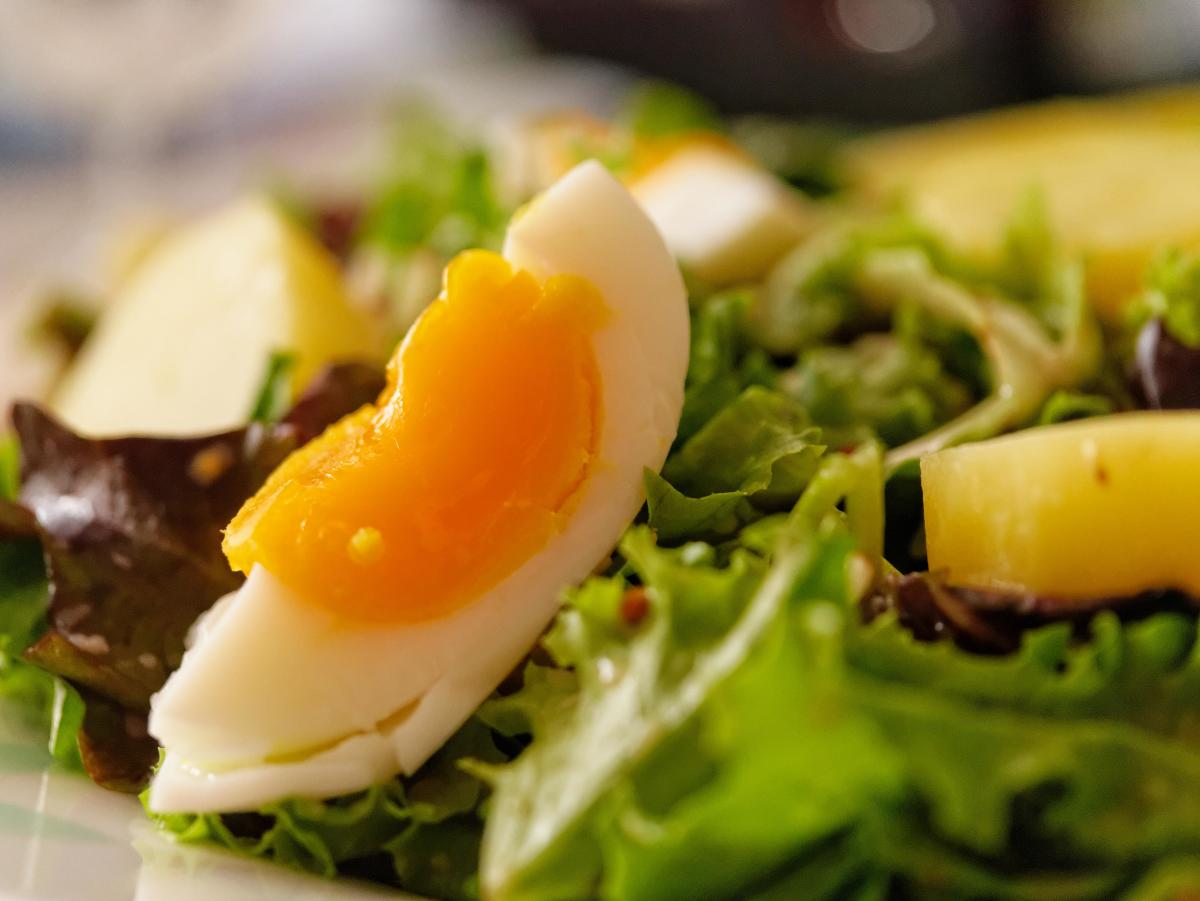 Eggs - a low carb alternative to meat.