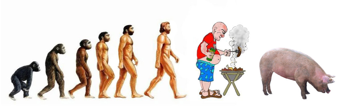 Let us hope we're still evolving in the right direction.
