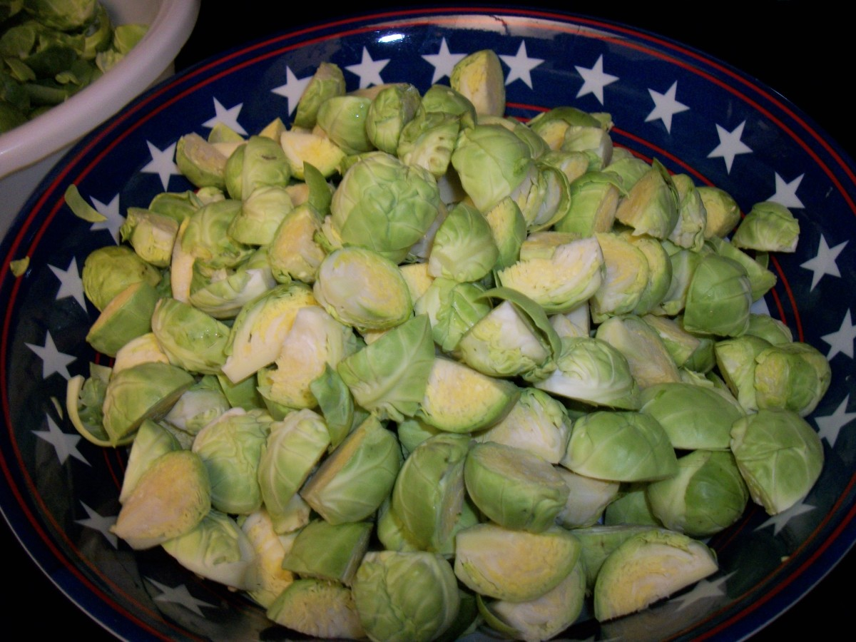 Brussels sprouts are a good source of lutein