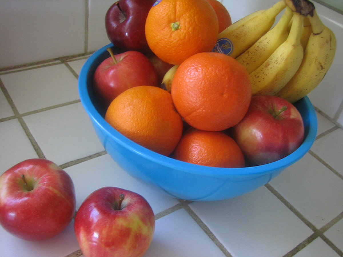 Fruits such as apples, oranges, and bananas are good sources of flavonoids