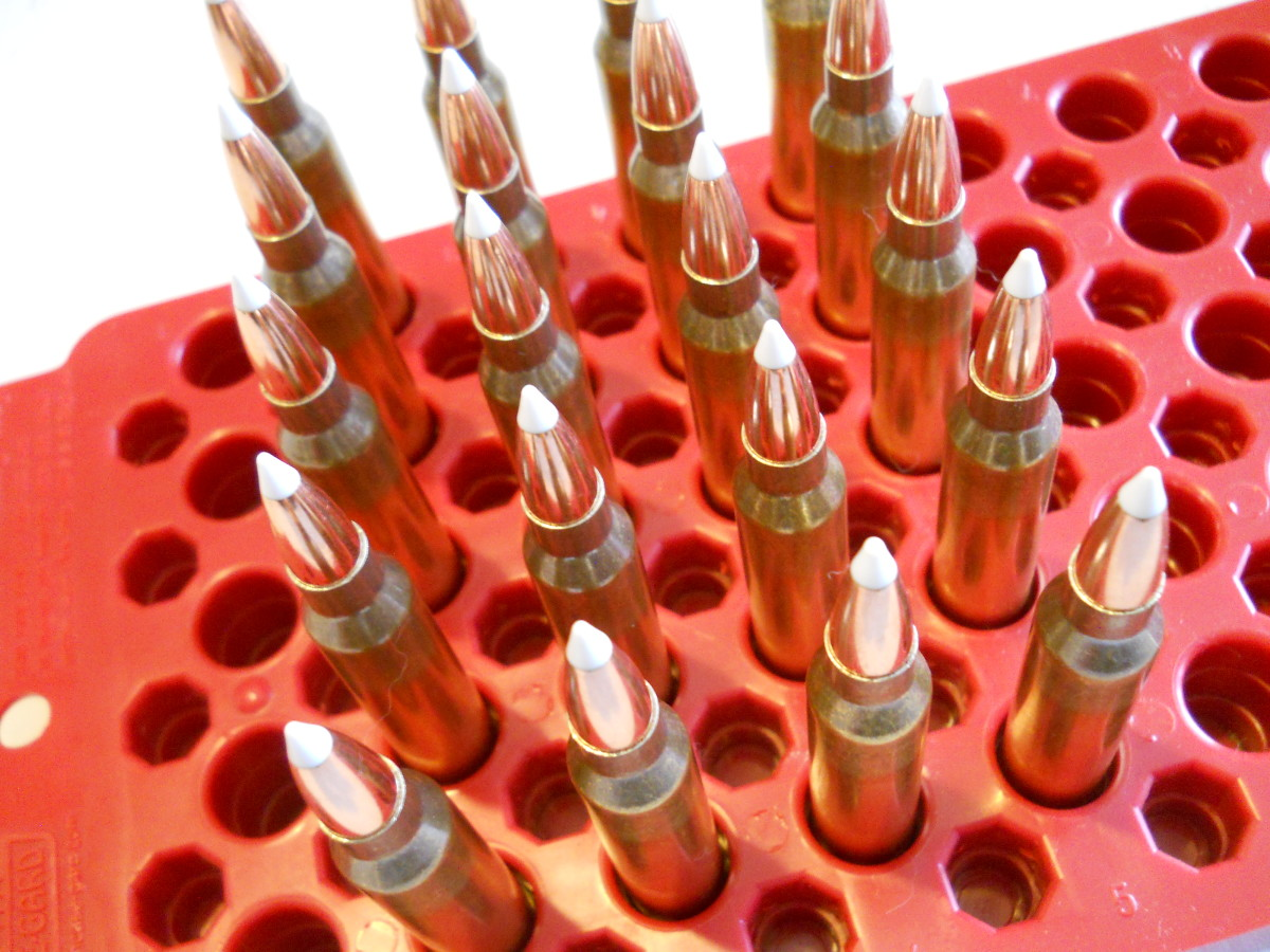 The .300 Win. Mag. hits harder than smaller bore long-range rounds, and does the same work as larger ones but with less recoil and powder.