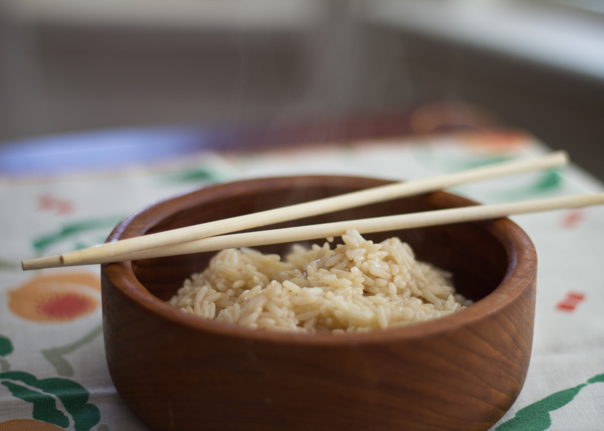 Brown rice is more nutritious and filling than white rice.