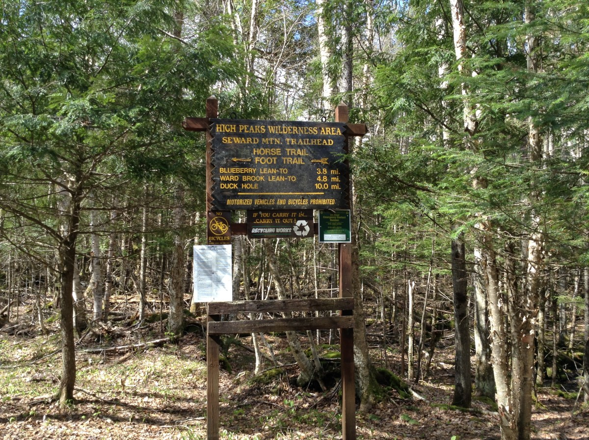 Mileage Sign