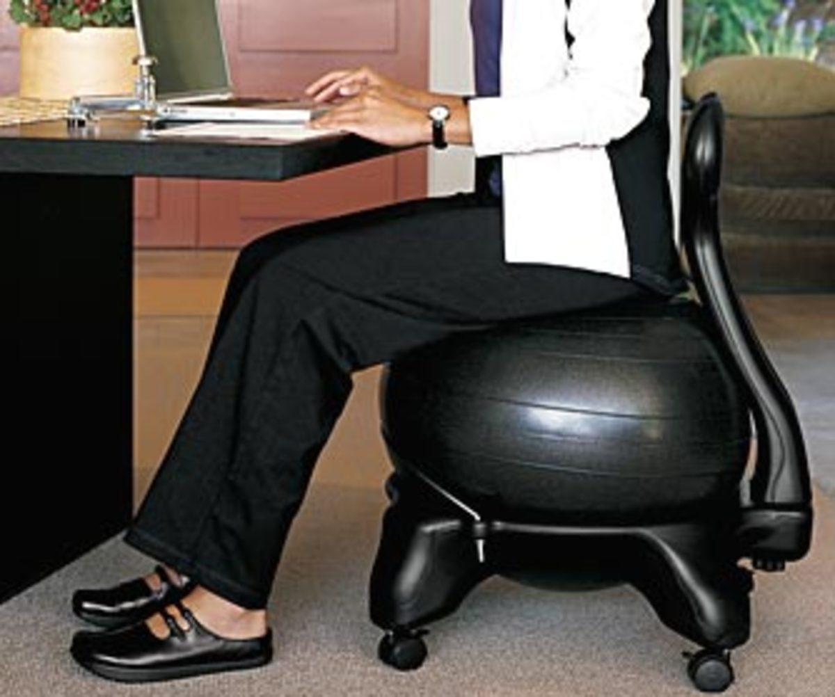 Gaiam Balance Ball Chair Inflation: History Of The Balance Ball And Bosu