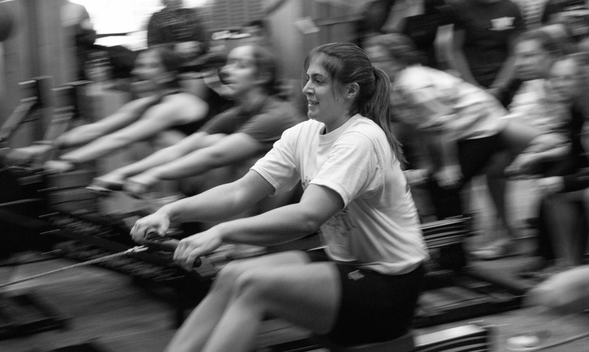 Rowing is a completely impact free cardio workout.
