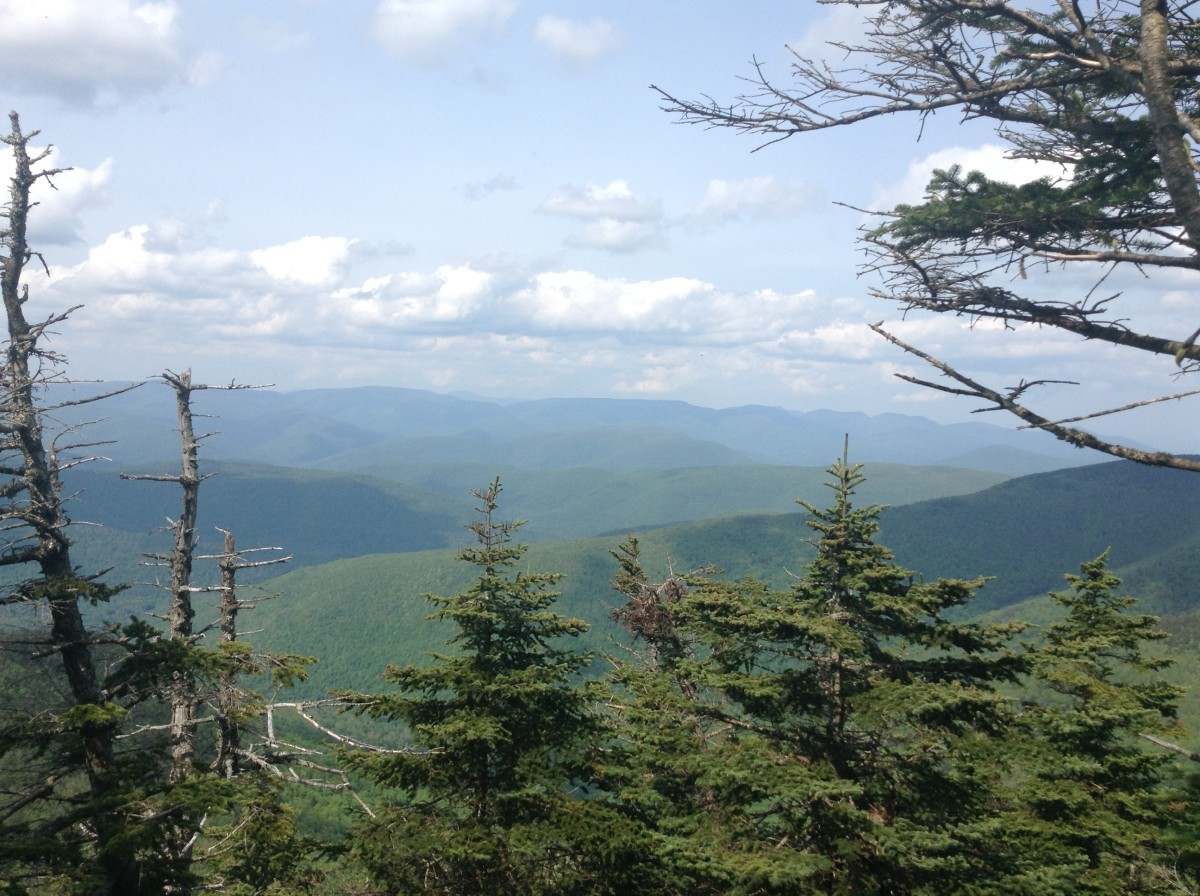 Catskill Hike: Slide Mountain