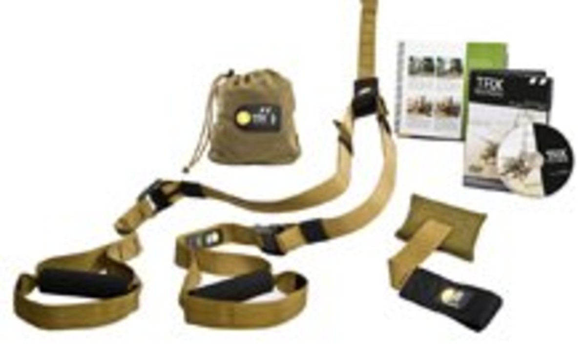 The TRX Force Kit-The ultimate outdoor workout station?