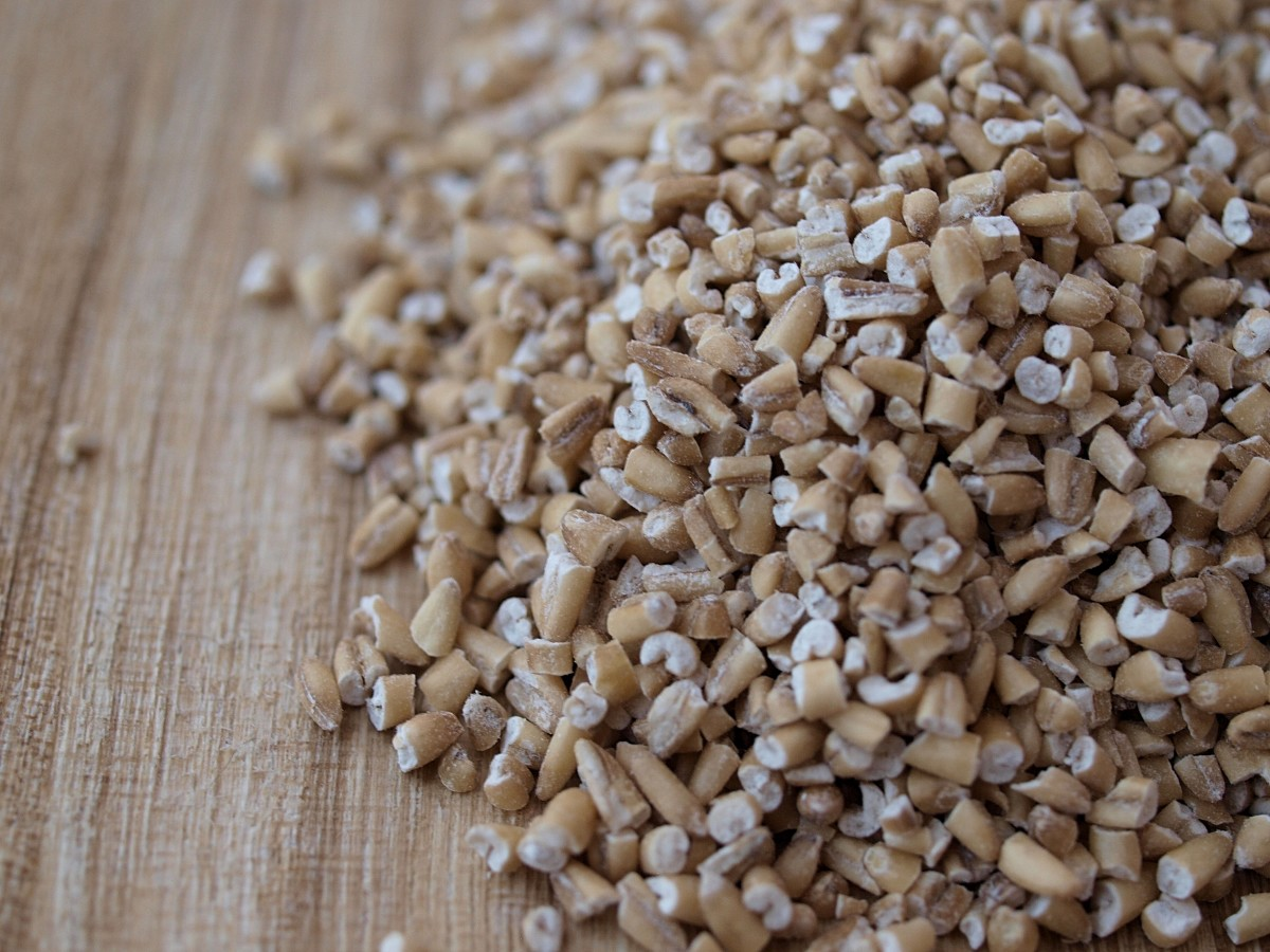 Steel-cut oats have a chewy texture like buckwheat and make a nice change from rolled oats.